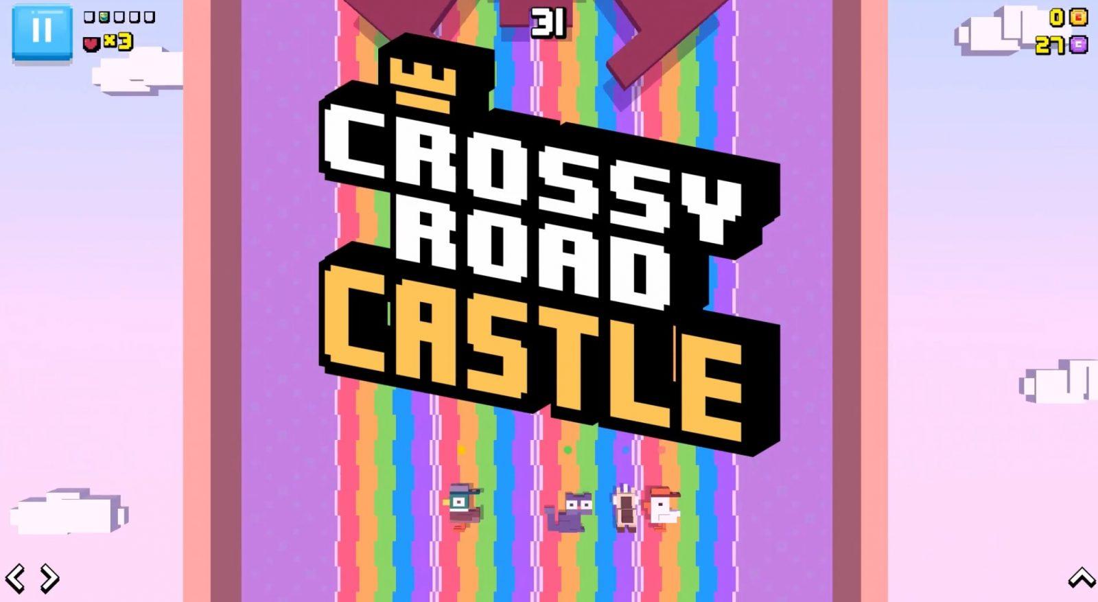 Crossy Road уже доступна в Apple Arcade
