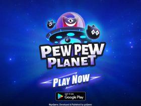 Защити планету в Pew Pew Planet