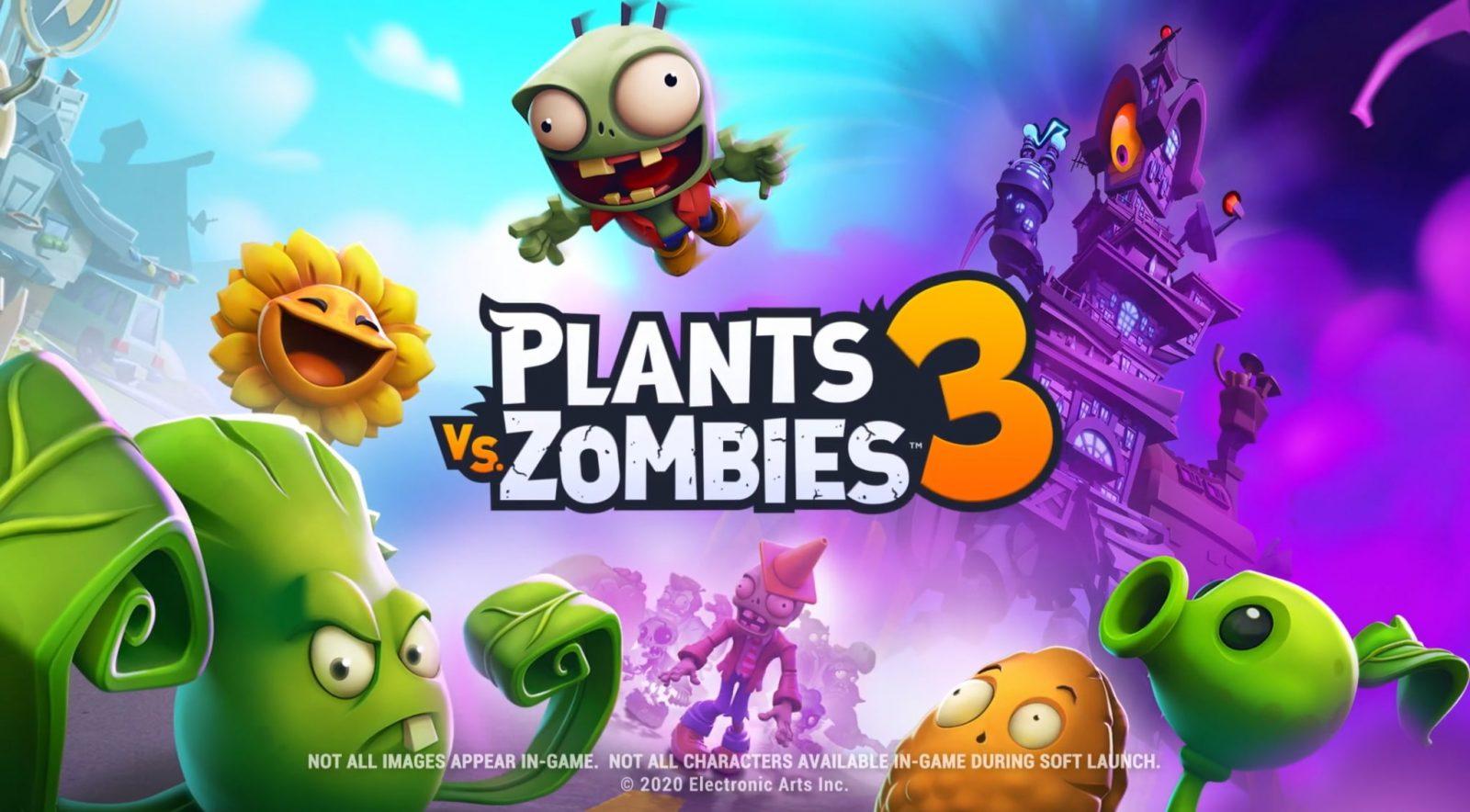 Plants vs Zombies 3 запустили в нескольких странах, появилось больше информации об игре