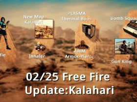 Новая карта, лобби, скины и многое другое в обновлении Free Fire