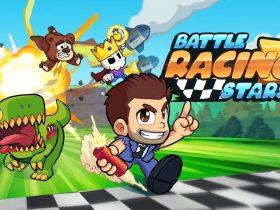 Новый раннер от Halfbrick - Battle Racing Stars, уже готов к скачиванию