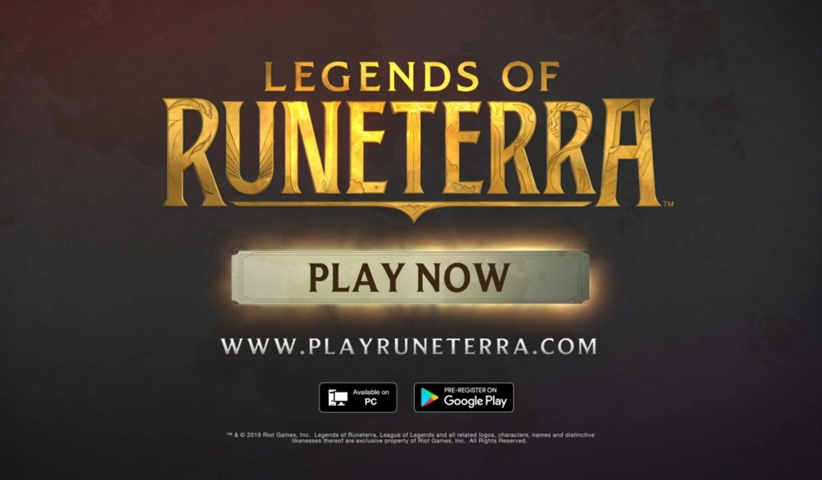 Карточная игра Legends of Runeterra по вселенной League of Legends, стала доступна в Сингапуре