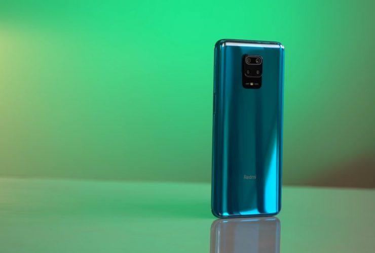 Задняя панель Redmi Note 9 Pro