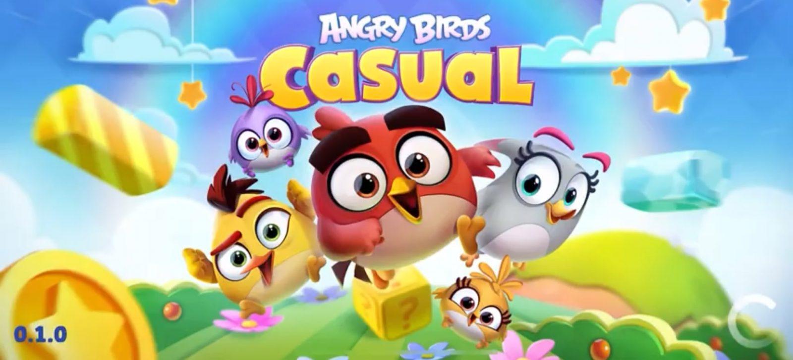 Злые птички возвращаются с игрой Angry Birds Casual