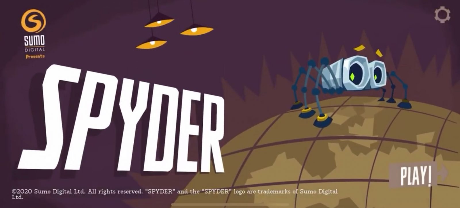 Спасите мир шпионским паучком в Spyder