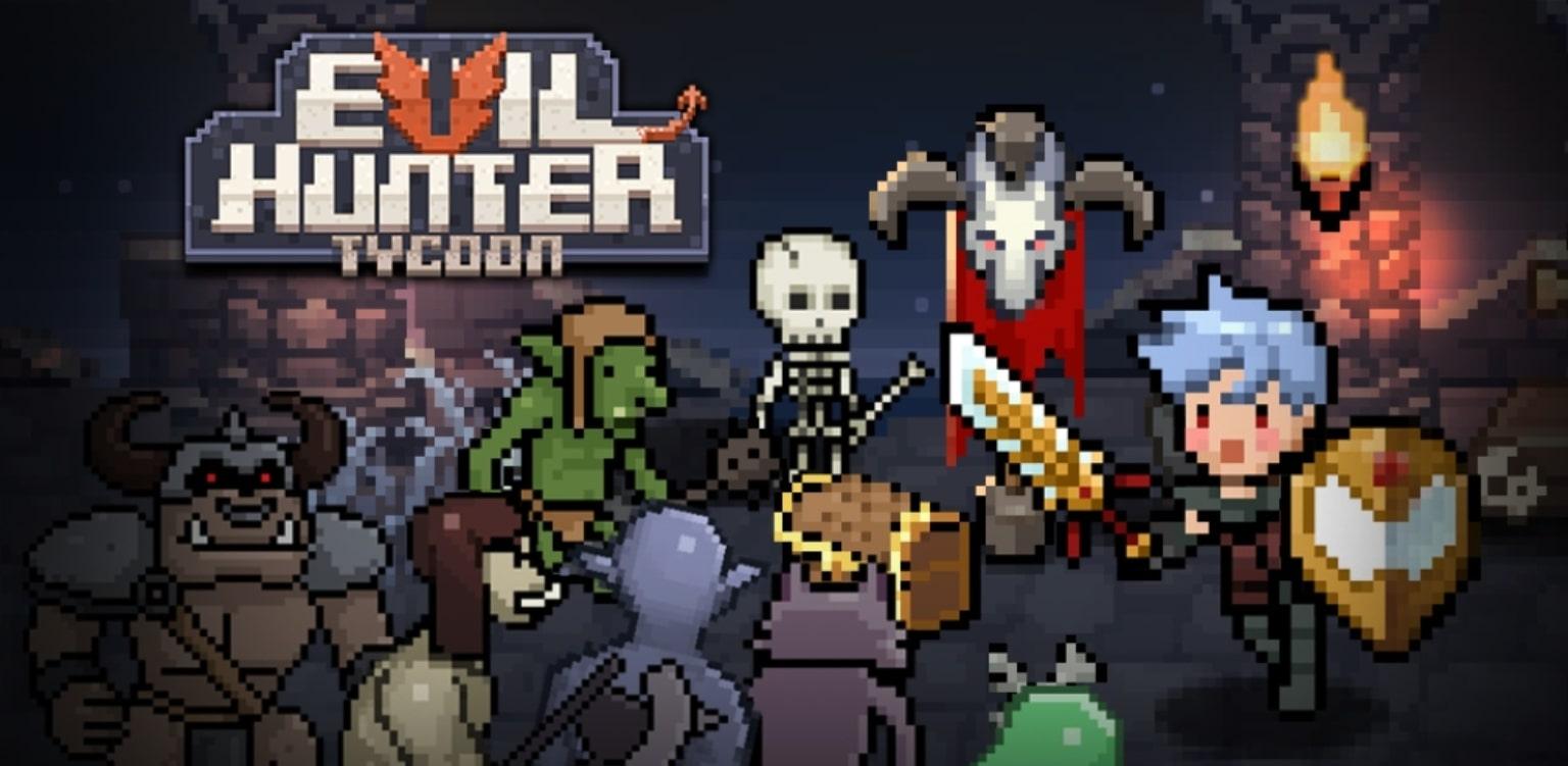 Наемники готовы на все ради блага города в Evil Hunter Tycoon