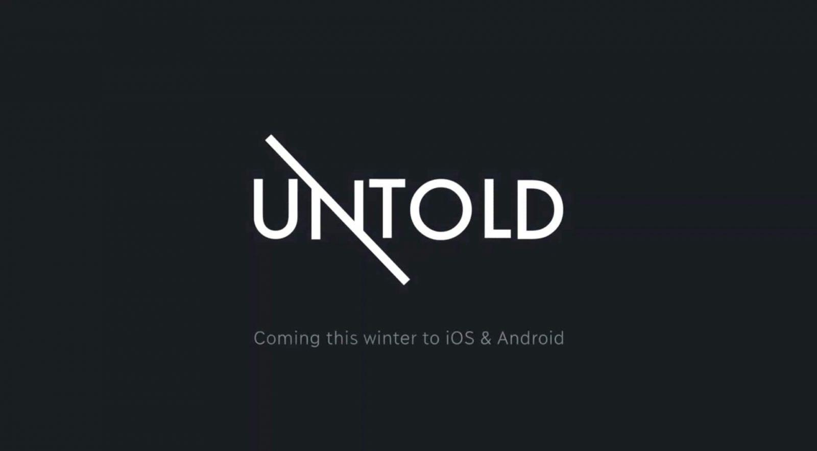 Текстовая RPG Untold, уже доступна на iOS и Android