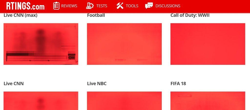 Выгорание красного цвета в OLED 102 неделя