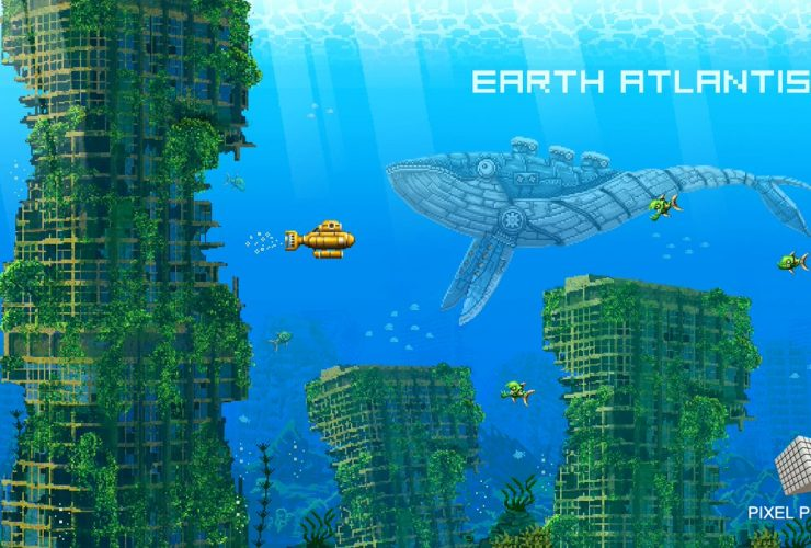 первый снимок Earth Atlantis 2