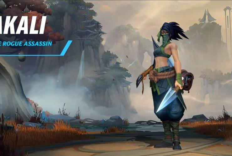 League of Legends: Wild Rift Akali