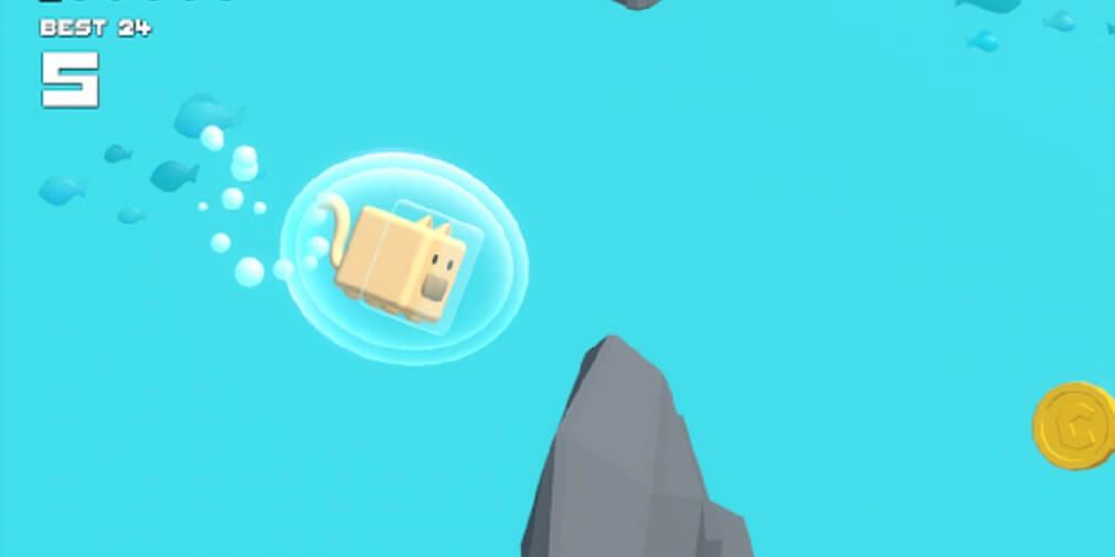 Плавающий кот покоряет океан в Choppy Waters