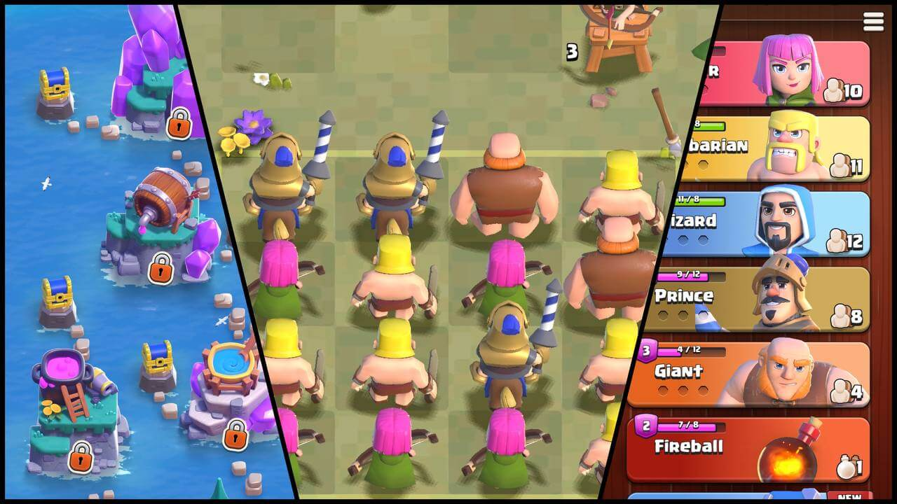 Обзор игры Clash Quest