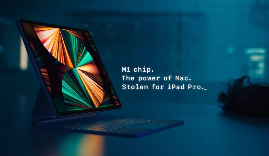 Дизайн iPad Pro 2021